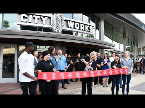 City Works Eatery & Pour House at Disney Springs, Grand Opening and Tour Inside Restaurant, WDW