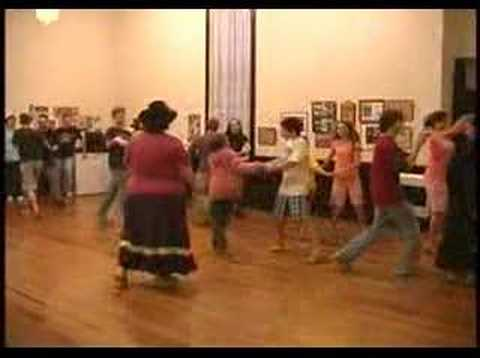 Flat Creek Contra Dancing Tennessee - YouTube