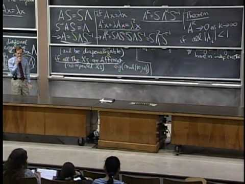 mit opencourseware linear algebra Dspace @ mit 1806 linear algebra, spring 2005  mit opencourseware (mit ocw) - archived content  this is a basic subject on matrix theory and linear algebra .