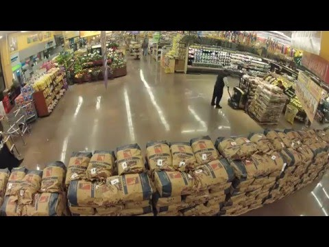 Worlds Largest Potato Display - Northgate Market in Los Angeles