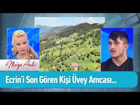 Ecrin'i son gören kişi üvey amca Özkan  - Müge Anlı ile Tatlı Sert 14 Mayıs