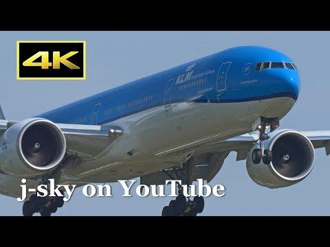 [4K] 30 Minutes Plane Spotting at Narita International Airport 2017 - 2 / 成田国際空港