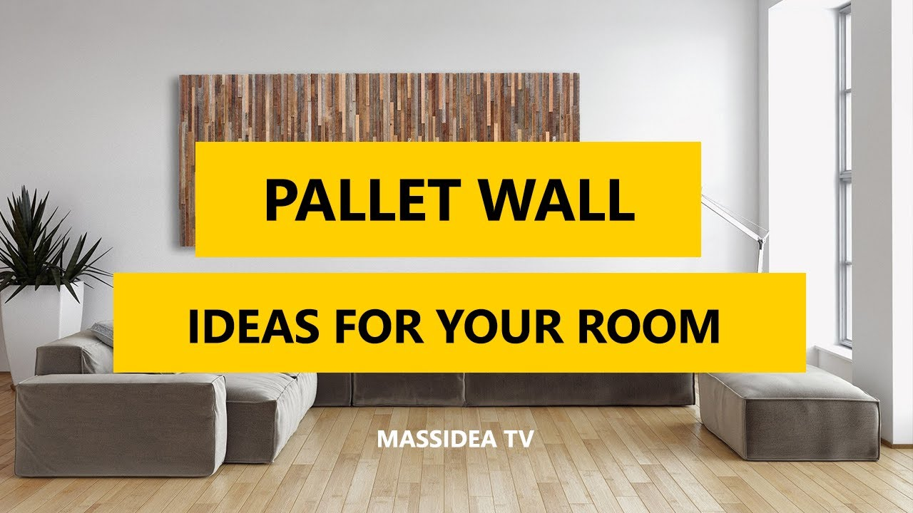 60+ Awesome Pallet Wall Art Design Ideas for Your Room 2017 - YouTube