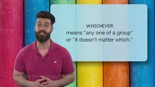 Everyday Grammar Ever Words