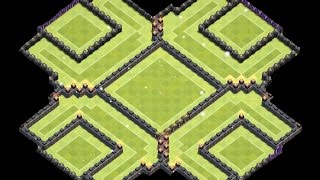 Clash of Clans - Th10 Farming Base (275 walls) - Th11 Update-
