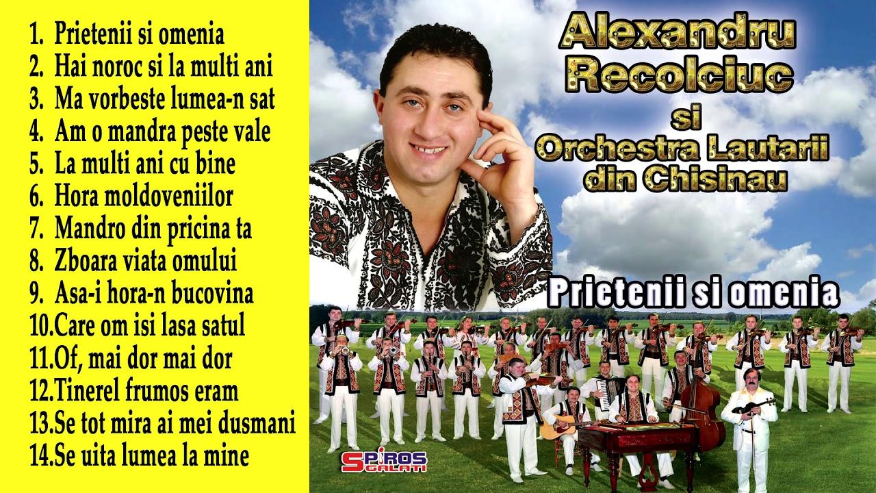 Alexandru Recolciuc Colaj Muzica Populara Din Bucovina Youtube