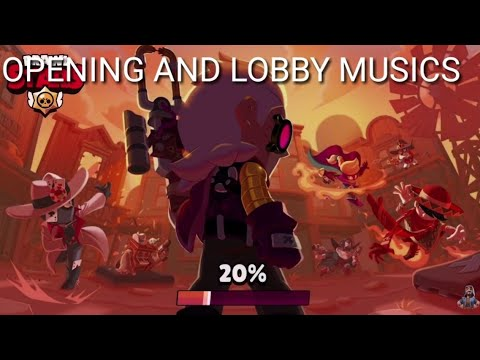 OPENING AND LOBBY MUSICS OF THE GOLD ARM GANG SEASON 6-BRAWL STARS