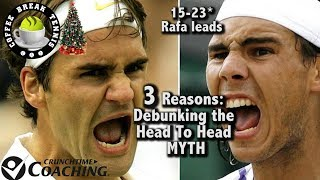 Agassi Wrong About Fed, 3 Reasons Fed-Nadal Head to Head is misleading... CBT Holiday Super Sip