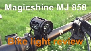 magicshine mj 858 bike light review review