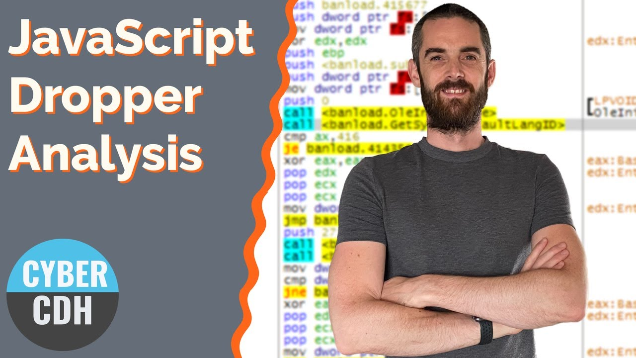 Emotet JavaScript dropper deobfuscation and analysis - YouTube