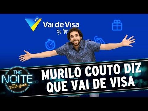 The Noite (23/09/15) - Murilo Couto Diz Que Vai De Visa