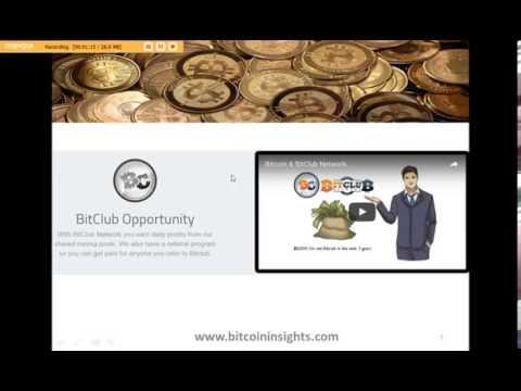 Bitcoin Insights - Online Bitcoin Mining Education