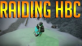 Raiding HBC The Northern Frontier -Roblox