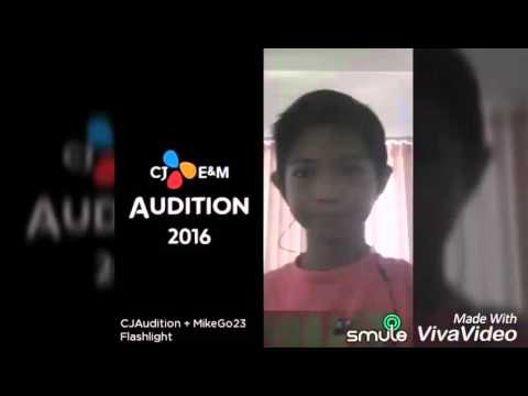 My Cj E&M audition | smule sing!