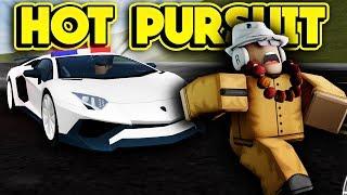POLICE VS. CRIMINALS! (ROBLOX Vehicle Simulator)