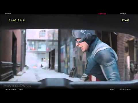 The Avengers Deleted Scene   Cap Saves A Family 2012   Robert Downey Jr  Movie HD