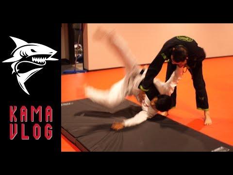 What does a Judo Black Belt think of Jiu-Jitsu? - Kama Vlog