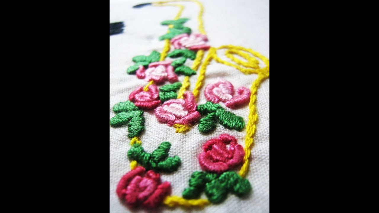 Easy Flower Embroidery Designs