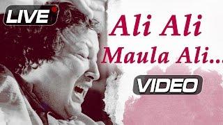 Ali Ali Maula Ali Ali - Nusrat Fateh Ali Khan Live | Top Pakistani Qawwali Songs