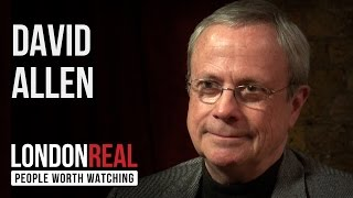 David Allen - Getting Things Done - PART 1/2 | London Real