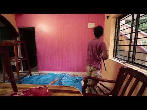 Asian Paints' Dapple Metallic Effect