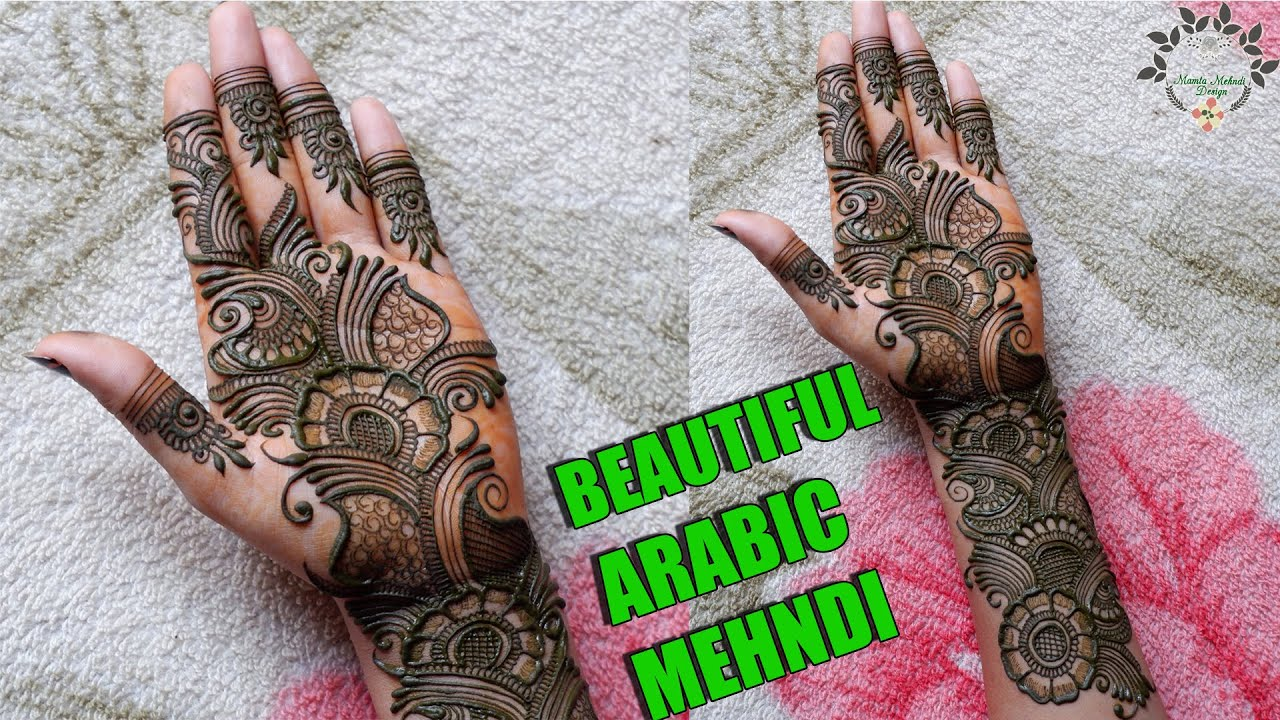 Beautiful Arabic Mehndi Design | Stylish Arabic Mehndi Design | Easy Arabic Henna Design