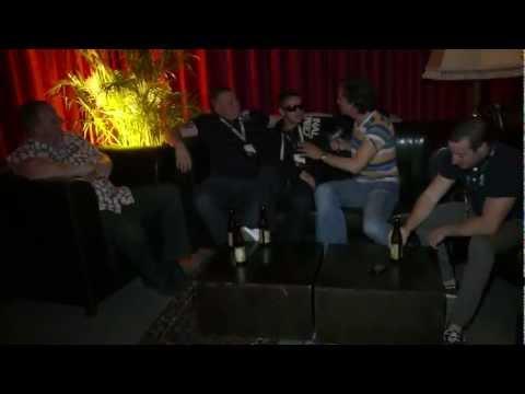 Flex FM's Carloss, Outlaw & Tempo @ Zurich Radio Fest 2011