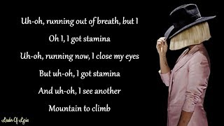 Sia - THE GREATEST (Lyrics) ft. Kendrick Lamar