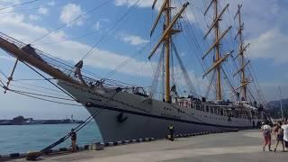 Красивые корабли снова в Ялте 2017г