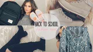 BACK TO SCHOOL CLOTHING HAUL♡| Nazanin Kavari