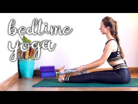 Yoga For Bedtime - Beginners Relaxing Sequence to help Sleep