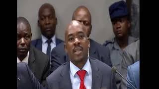 """Nelson Chamisa Explains """"Kudira Jecha mu Sadza"""" to Motlanthe Commission"""