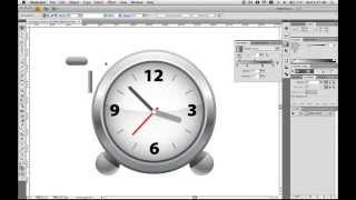 Hướng dẫn vẽ đồng hồ báo thức bằng phần mềm Illustrator