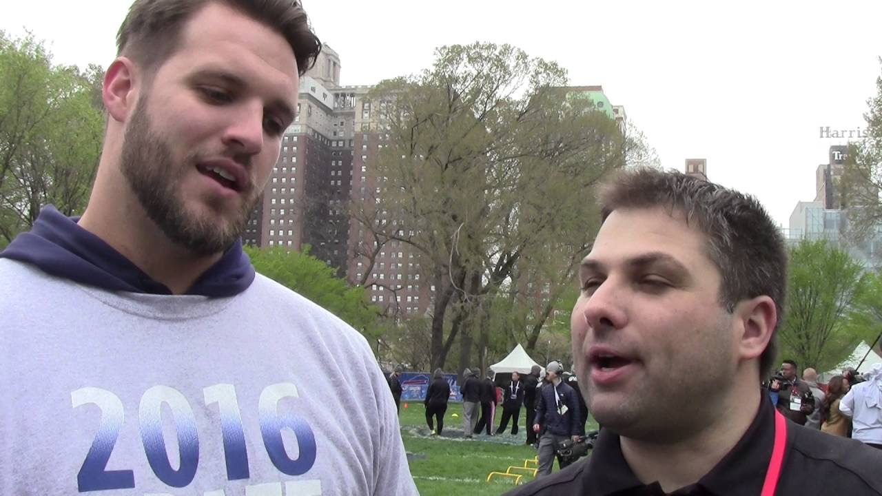 Interview WIth Taylor Decker The Detroit Lions New $10M Dollar Man