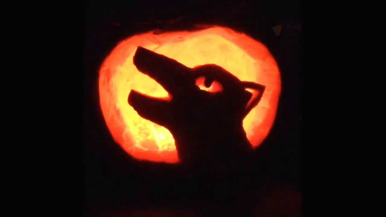 Pumpkin Carving Wolf Youtube