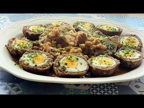 délicieux-plat-viande-hachée-farcies-aux-œufs