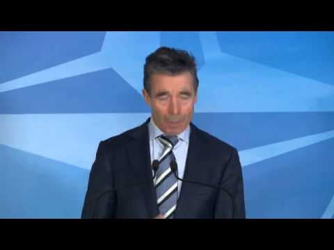 Ukraine.- Rasmussen (SG NATO) leaves the door open for the dialogue with Russia