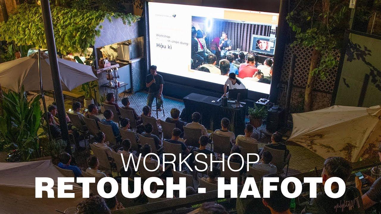 Retouching – Hafoto | Workshop chụp ảnh chân dung | Tối thứ Năm 18/4