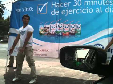Driving in Polanco Mexico City - Human advertising
