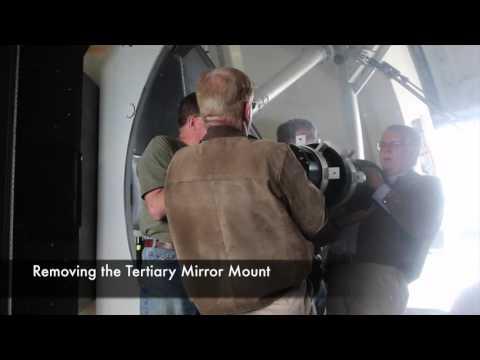 APF 2.4-m Mirror Aluminization 2016-09-21