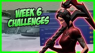 SEASON 9, Week 6 Leaked Challenges (Week 6 Guide) - Fortnite Battle Royale