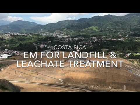 EM for Landfill and Leachate Treartment in Costa Rica