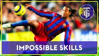 50 Impossible Skills That Only RONALDINHO Did In Football