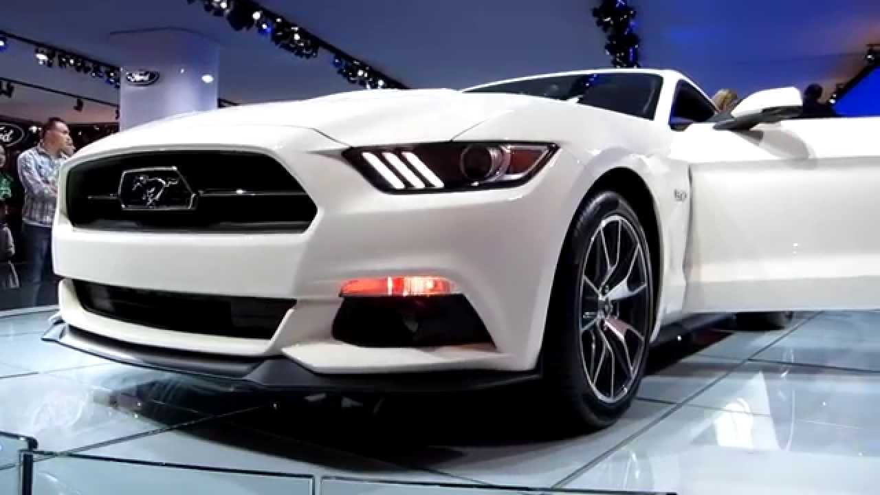 2015 Ford Mustang 50th Anniversary Edition 50 Overview