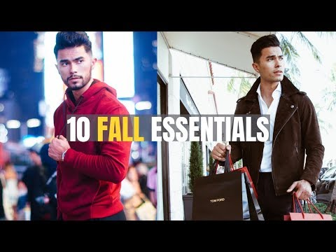 Top 10 Fall Pieces EVERY Man Needs In His Wardrobe