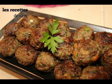 الذ-وصفة-كويرات-اللحم-المفروم_recettes-boulettes-viande-hachée