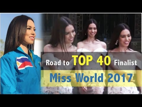 Miss World 2017: Road to TOP 40 FINALIST -  LAURA LEHMANN is now in Blue Group 17 - FULL (HD)