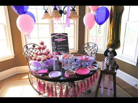 Vlog #27: Chloe's First Birthday⎮How to Throw a Fabulous Dog Party!