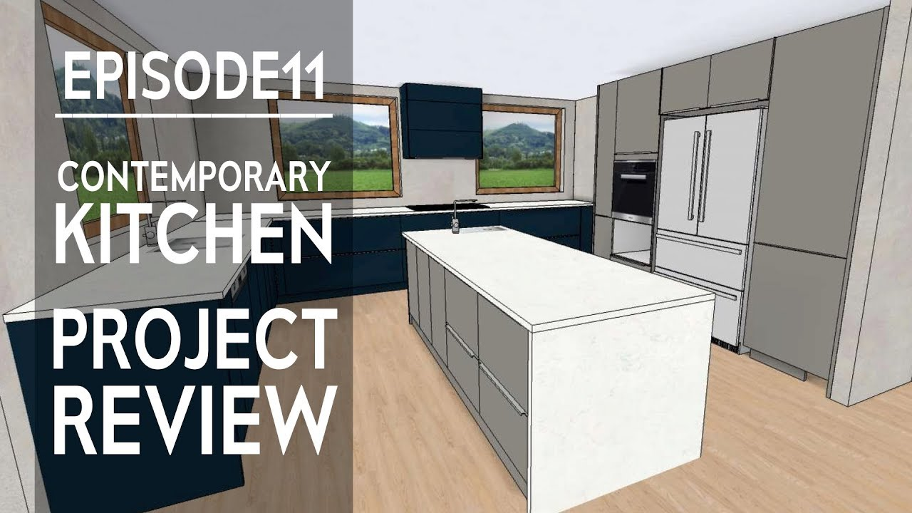 Modern Kitchen Wellesley Project Review In Virtual Reality European Design