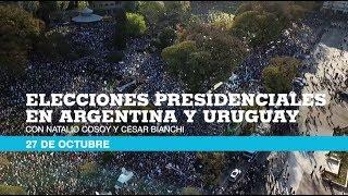 Elecciones en Argentina y Uruguay, un cubrimiento especial de France 24 en español